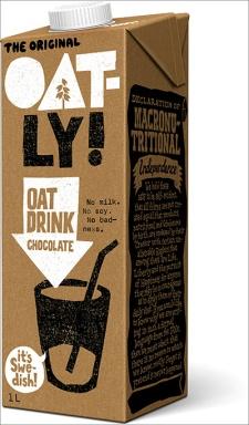 Chocolate oat - angled