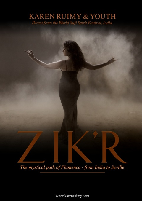 Zik'r Poster UC (no show info) A3 for print