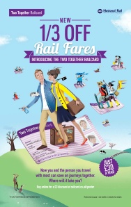 Two Together Railcard Poster FINAL