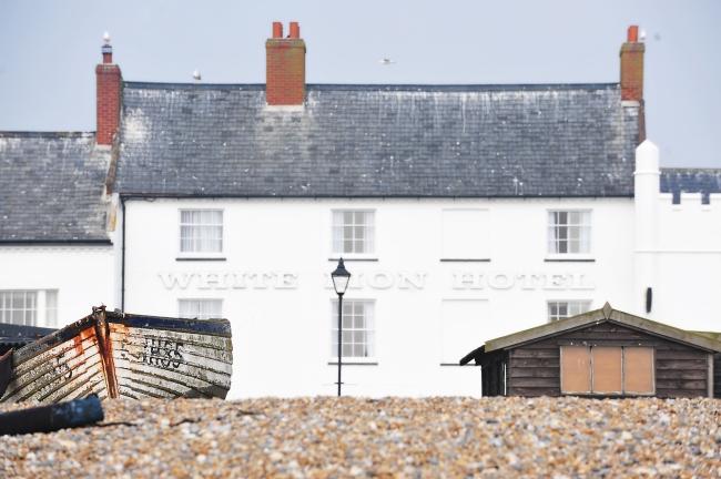 White Lion Hotel, Aldeburgh exterior