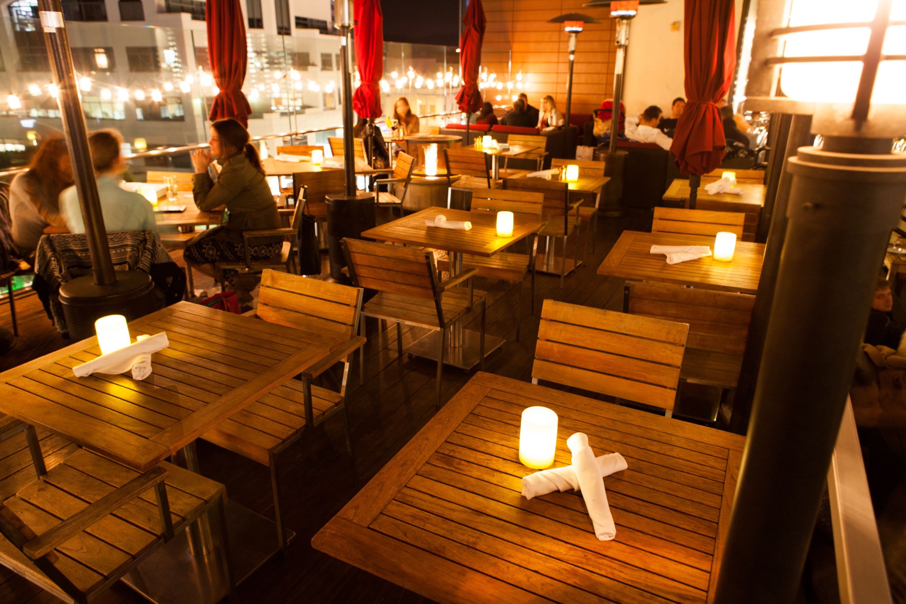 Hidden In The Heart Of Santa Monica On Top Of Shopping Mall Sits Something  You Would Not Expect, A Beautiful Restaurant With A Stunning Roof Terrace  And ...