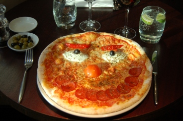 Red Nose Day Pizza! 4