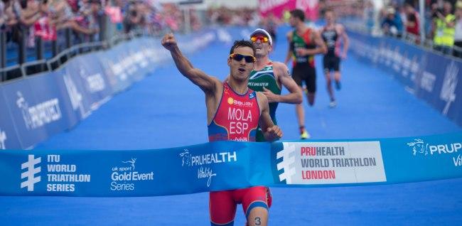 The PruHealth World Triathlon London 2014