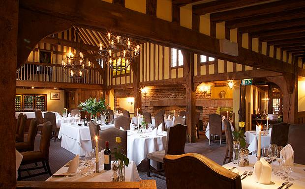 AA+two+rosette+Gallery+Restaurant,+Swan+at+Lavenham+1