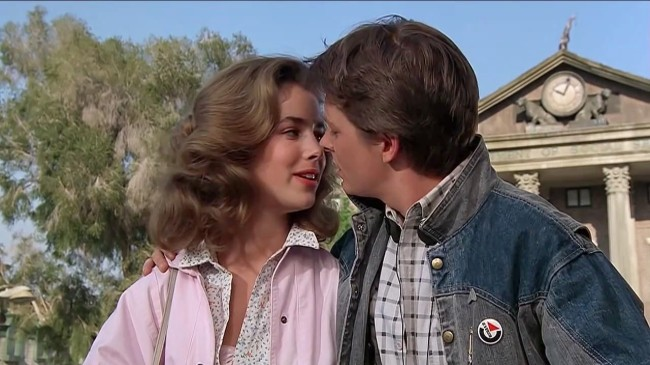BTTF marty and Jennifer