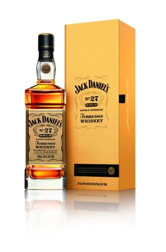 Jack Gold No.27 bottle, case