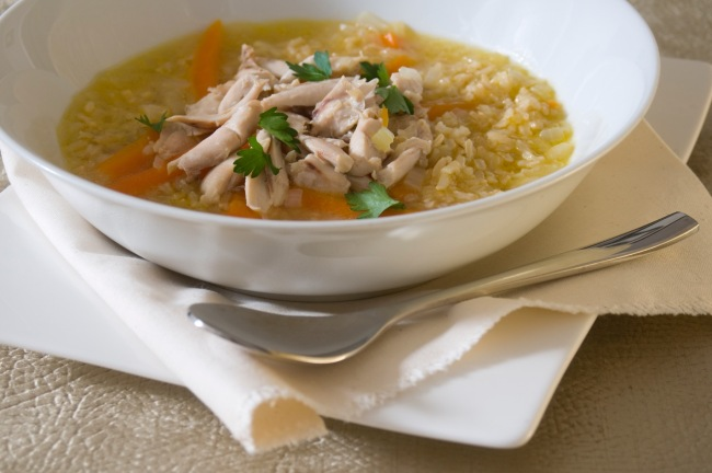 Light, Tasty and Quick Chicken Broth