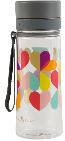 Beau & Elliot Grey Broken Hearted Hydration Bottle