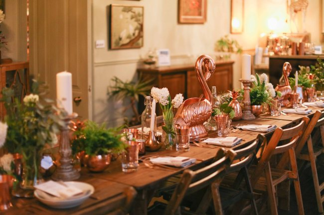 Anna Barnett hosts an Absolut Elyx Supper Club in aid of Water For People (5)
