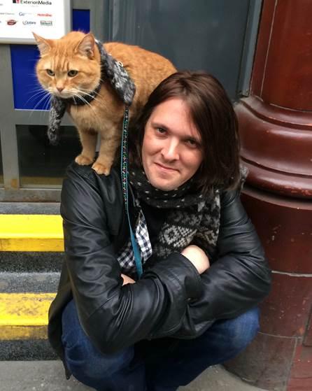 James Bowen and Streetcat Bob