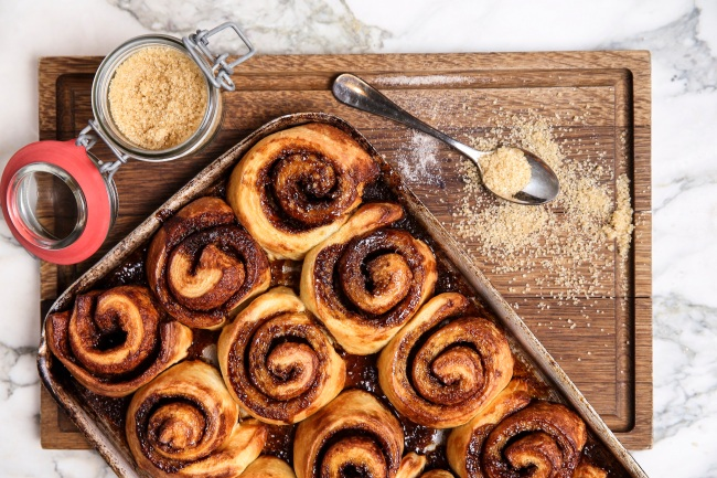 The Larder Cinnamon Rolls