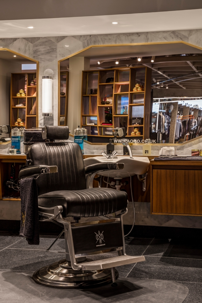 AONO Barbershop at Harvey Nichols - 3