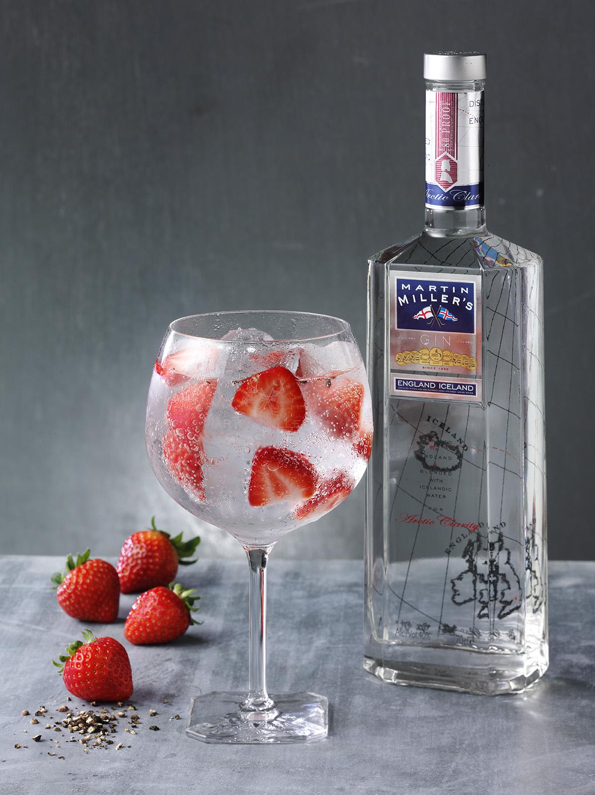 drink treat yourself to a martin miller s british g t. Black Bedroom Furniture Sets. Home Design Ideas