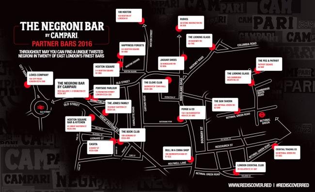 Negroni Map