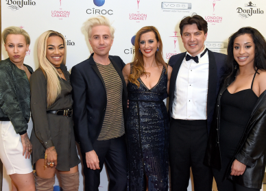 Nick Grimshaw, Stooshe, The London Cabaret Club Founders