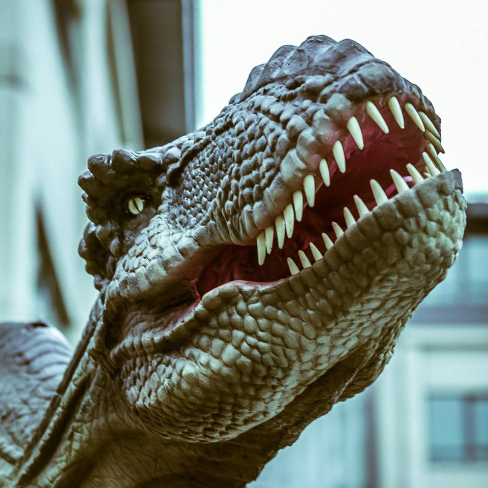 london events meet rex and walk with a real dinosaur heart