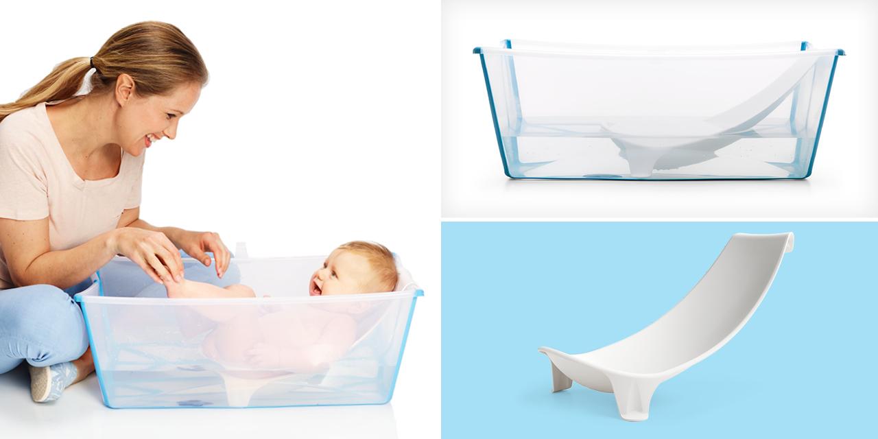BABIES – Keep your bathroom spacious with the Stokke Flexi Bath ...